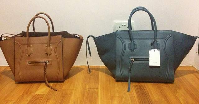 Celine Phantom Totes Size Comparison