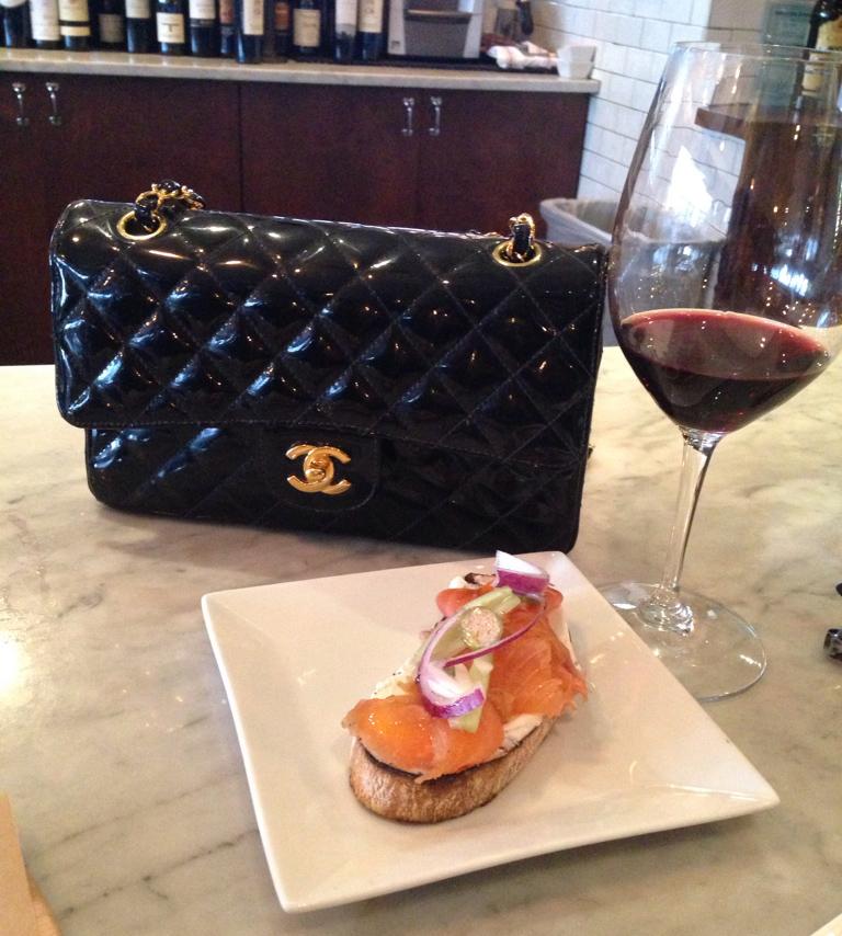 Chanel Bag and Bruschetta