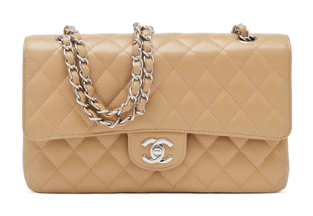 Chanel Caviar Double Flap Bag
