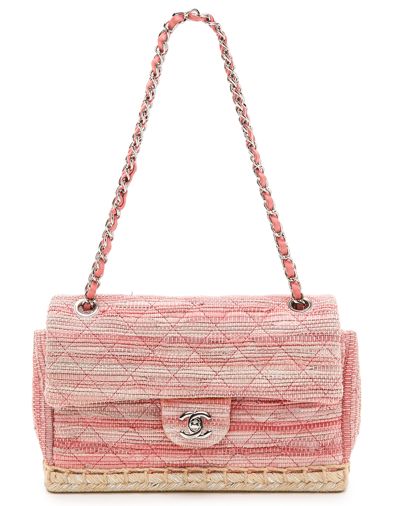 Chanel Espadrille Classic Flap Bag