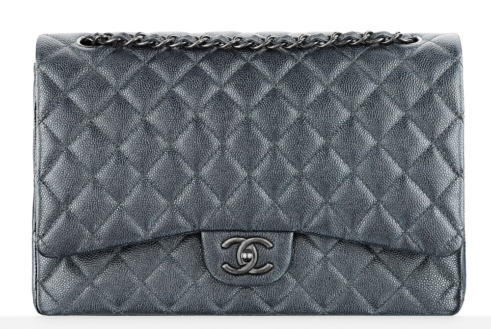 Chanel Grained Calf Classic Flap 6000