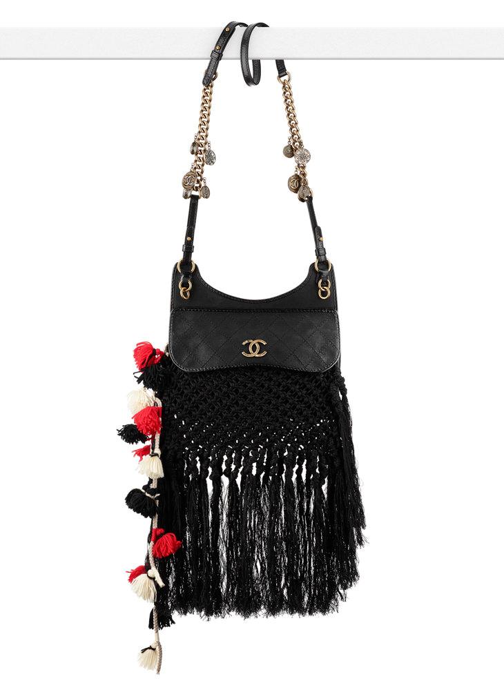 Chanel Iridescent Fringe Messenger Bag 7400