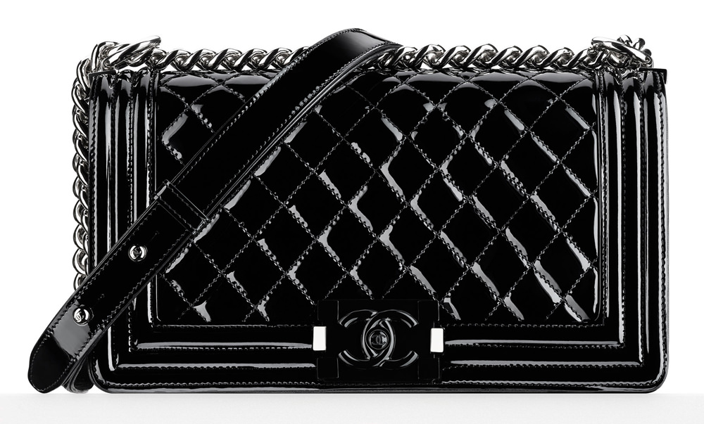 Chanel Patent Boy Bag 4700
