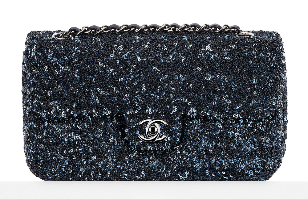 Chanel Sequin Embroidered Flap Bag 4900