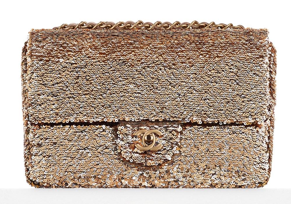 Chanel Sequin Flap Bag 5000