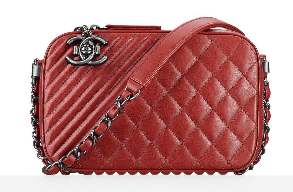 Chanel Small Camera Bag Red 3300
