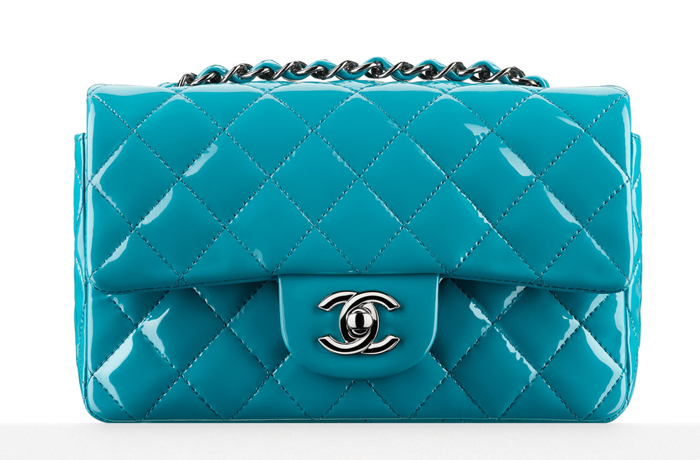 Chanel Small Patent Flap Bag 2900