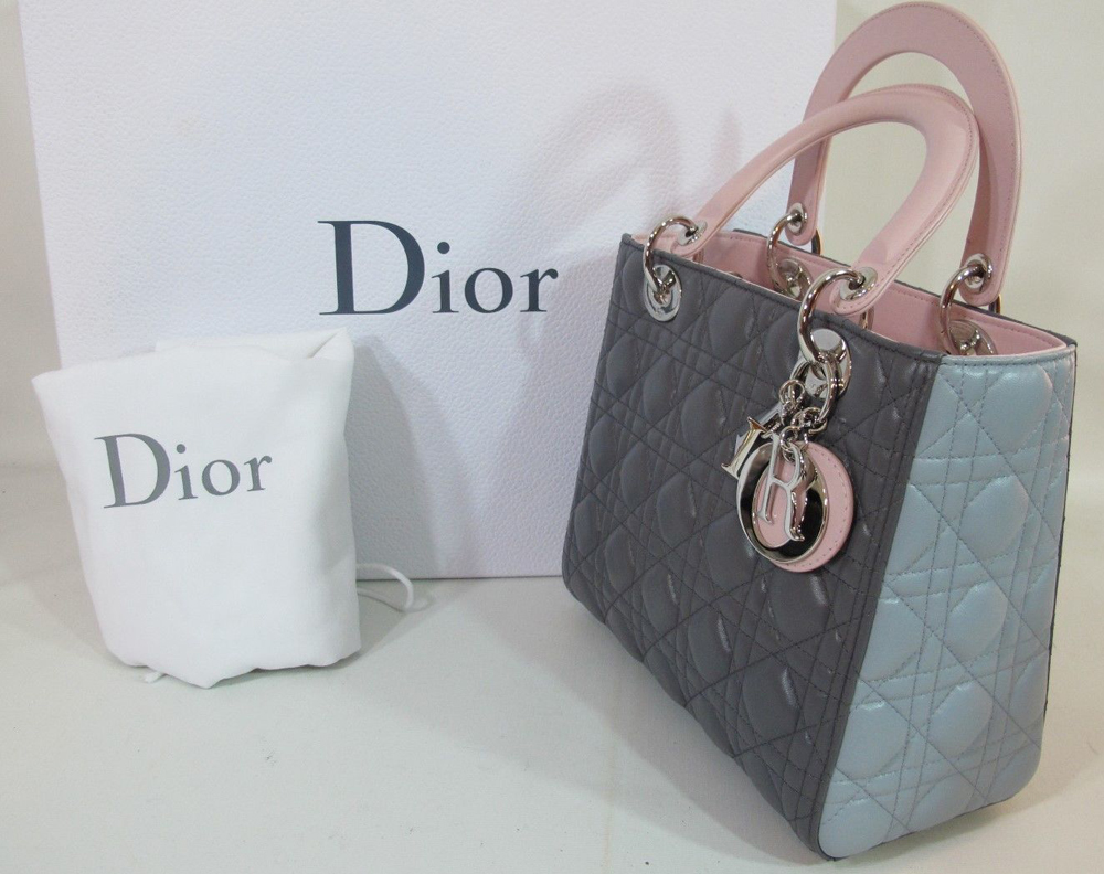 Christian Dior Lady Dior Mini Tote