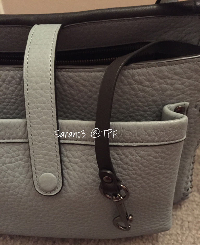 Coach Bag Closeup