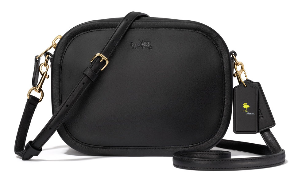 Coach Snoopy Mini Zip Around Bag