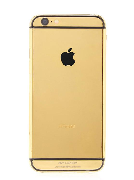 Gold Genie 24k Gold iPhone 6