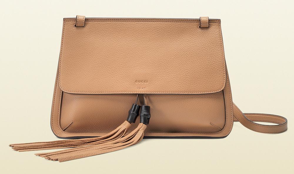 Gucci Bamboo Daily Flap Shoulder Bag