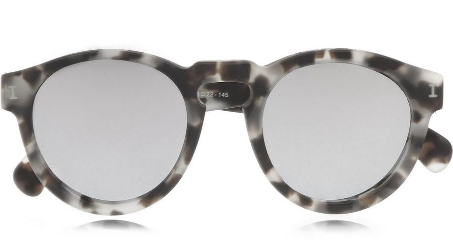 Illesteva Leonard Round-Frame Glasses