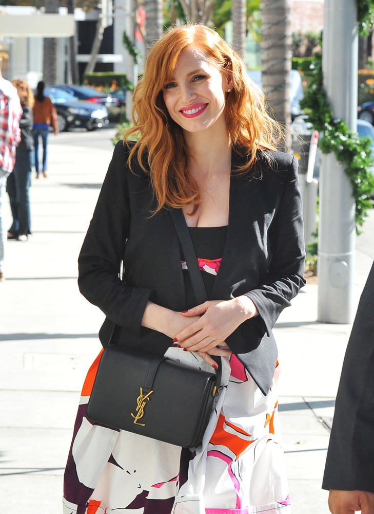 Jessica Chastain is out and about in Beverly Hills
