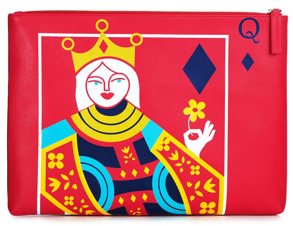 Jonathan Adler King Queen Reversible Clutch