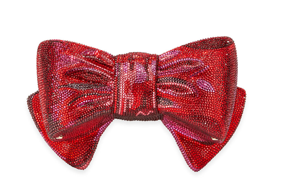 Judith Leiber Couture Crystal Bow Bag