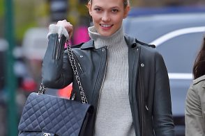 Karlie Kloss Carries Chanel in NYC