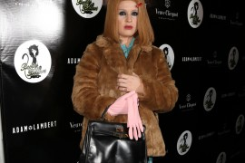 Kelly Osbourne Finishes Her Halloween Costume with an Hermès Bag