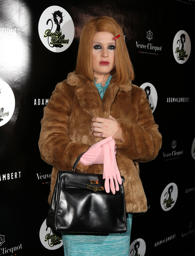 Kelly Osbourne Hermes Kelly Bag 4