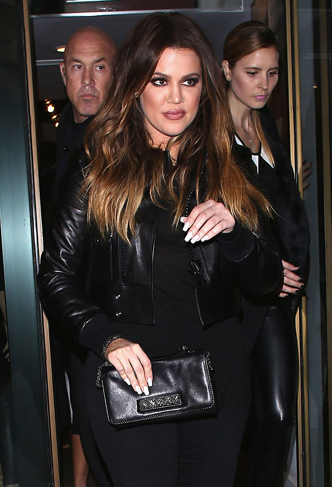 Khloe Kardashian arrives to Bellami Event