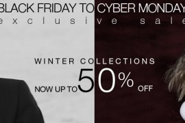 LUISAVIAROMA: Extra 20% Off Sale for Black Friday 2014