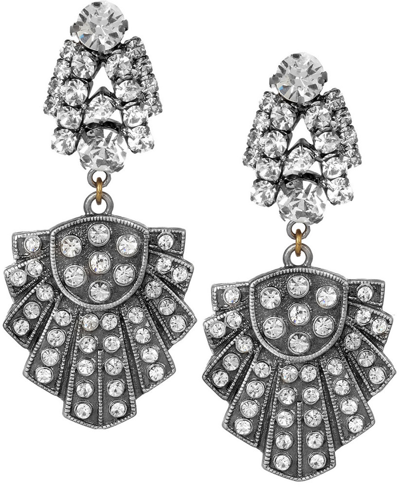 Lulu Frost Showcase Deco Earrings