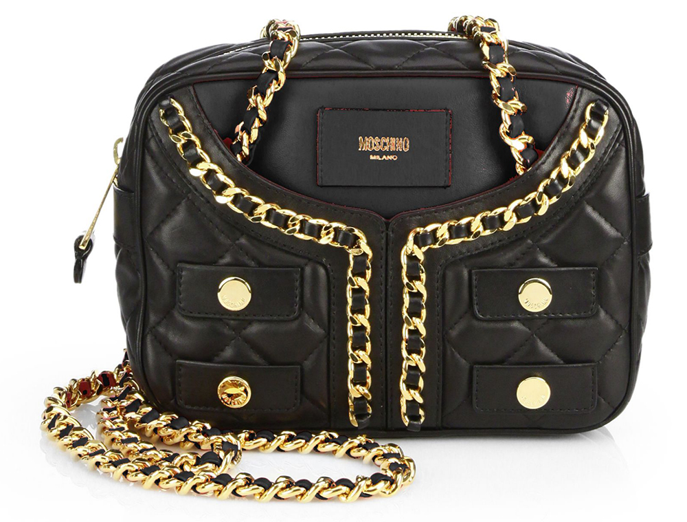 Moschino Quilted Jacket Bag