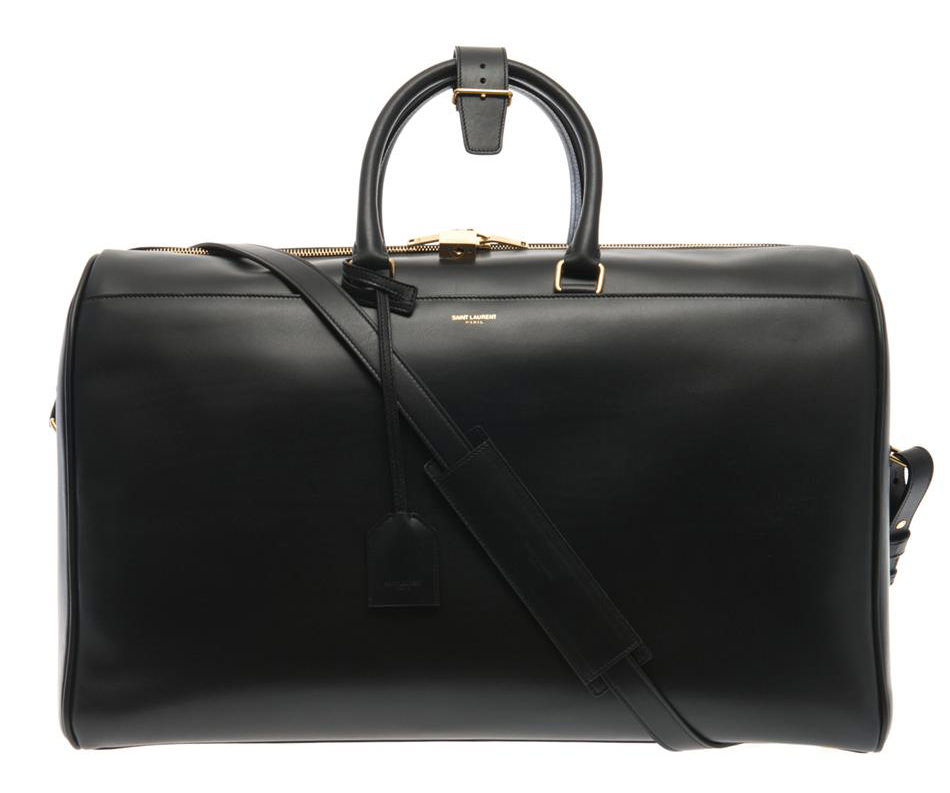 Saint Laurent Classic Duffel 24 Messenger Bag