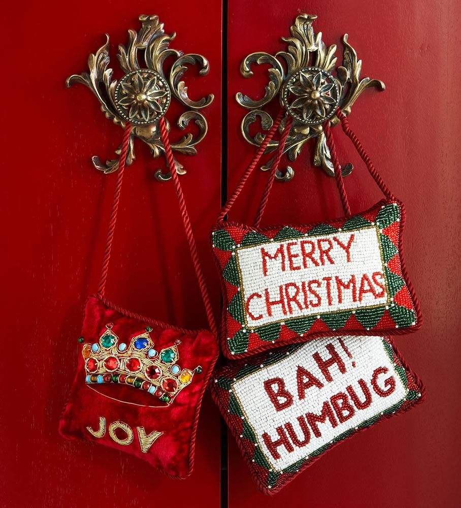 Sudha Pennathur Christmas Door Knockers