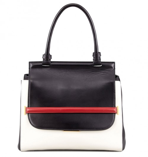 THE ROW Small Colorblock Top-Handle Satchel