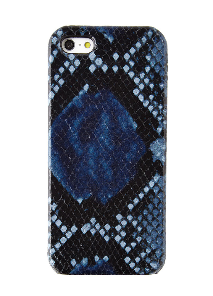 The Case Factory Python Embossed iPhone Case