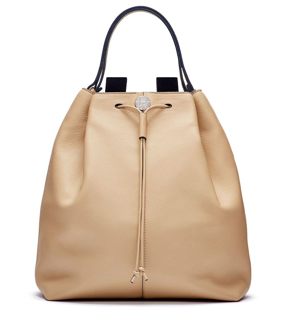 The Row Backpack 10 Leather Hobo
