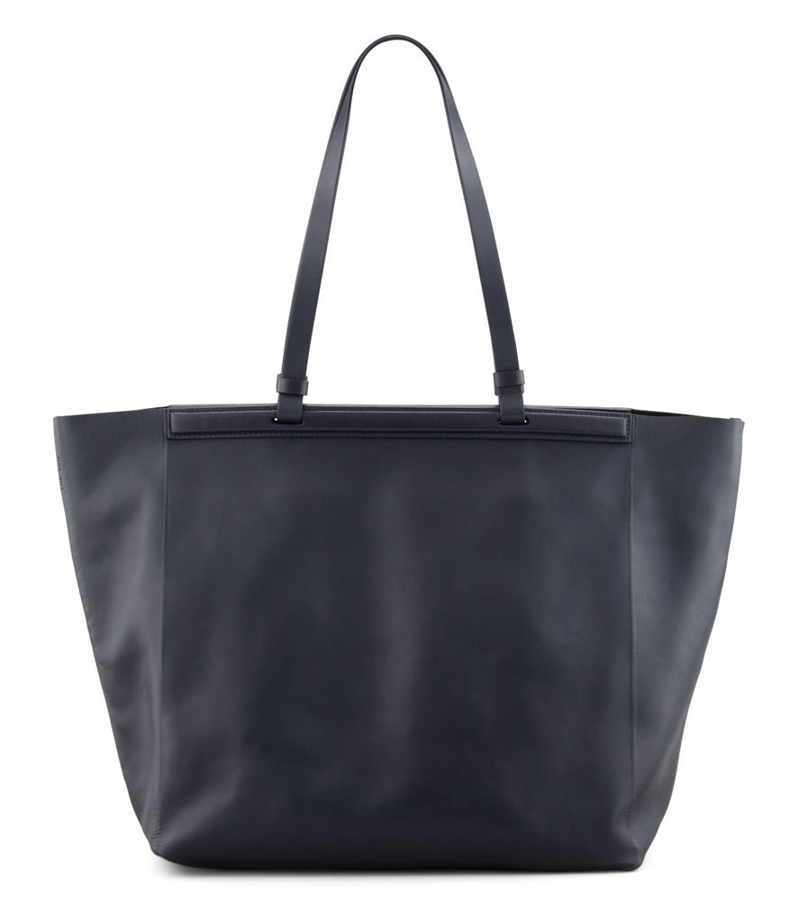 The Row Calfskin Shopper Tote