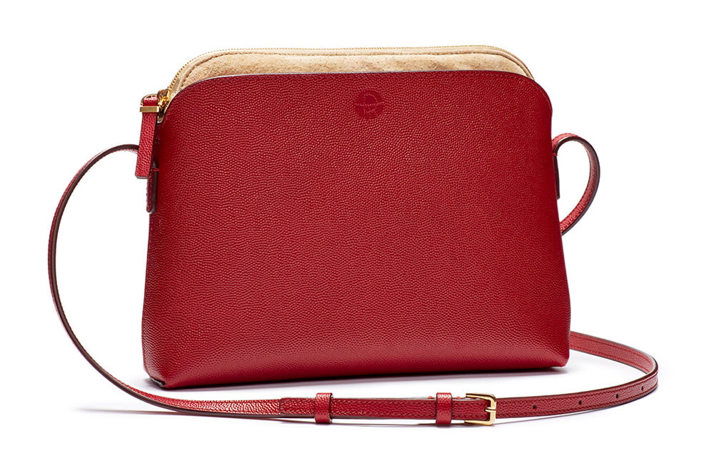 The Row Multi-Pouch Calfskin Crossbody