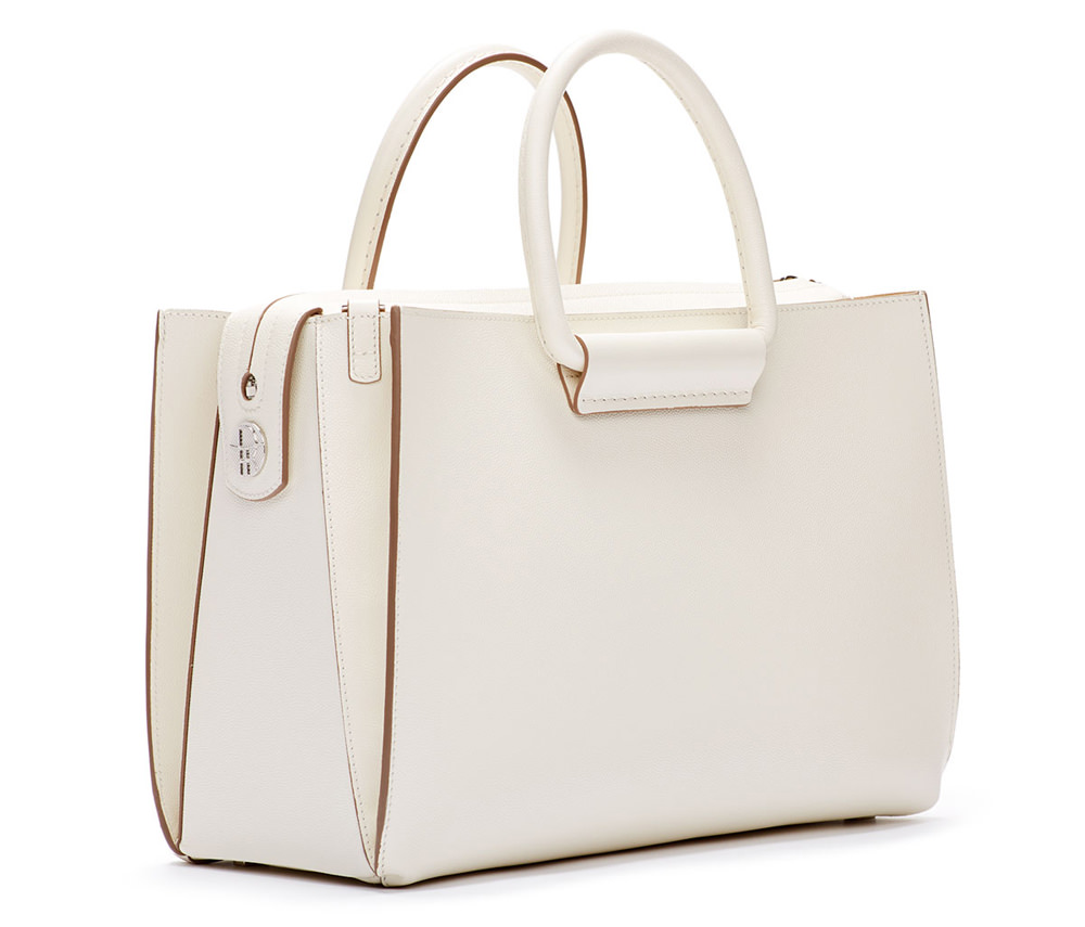 The Row Satchel 12 Bag White