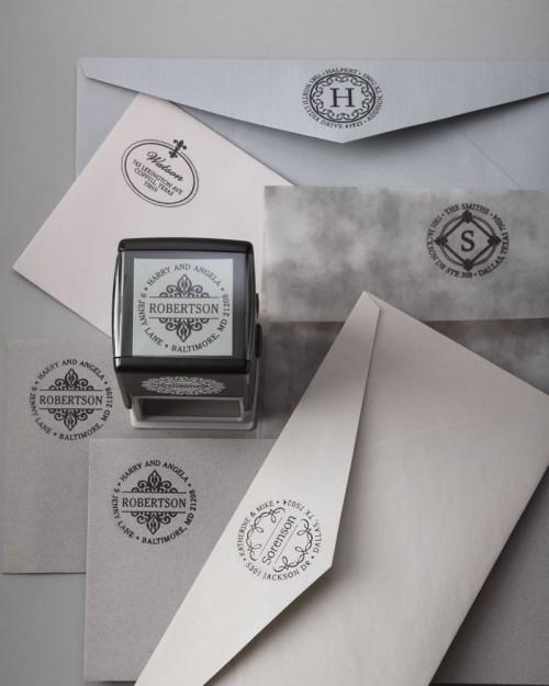 Three Designing Women Motif Custom Ink Stamps