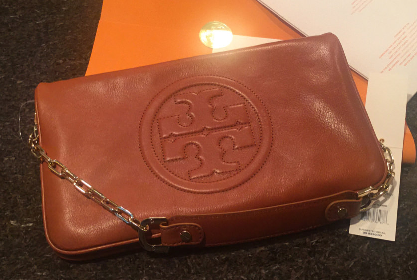 Tory Burch Chain Strap Clutch