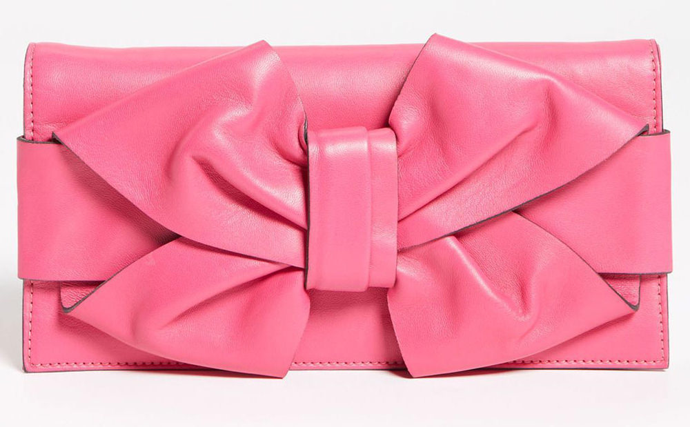 Valentino Bow Clutch