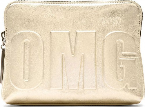 3.1 Phillip Lim Silver Iridescent OMG 31 Second Pouch