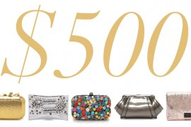 5 Under $500: Sparkling Holiday Clutches