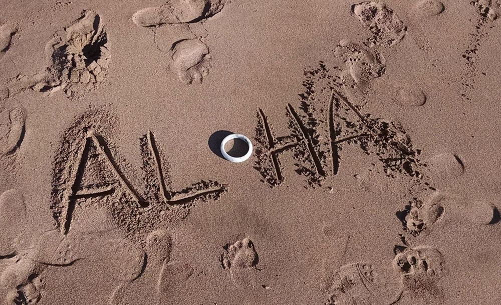 Aloha in Sand