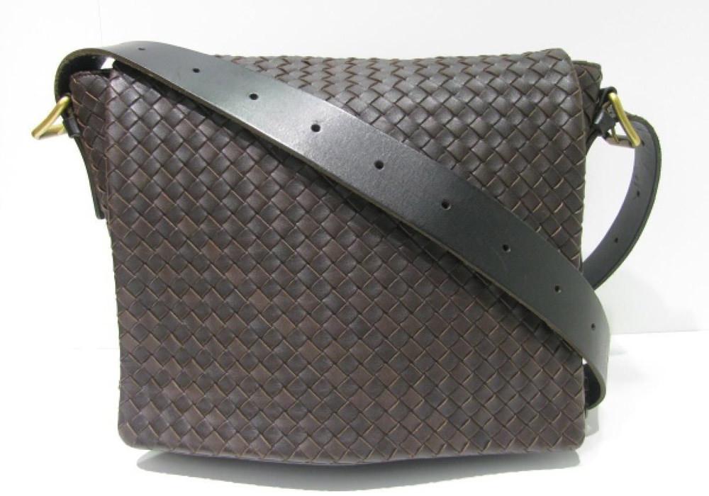 Bottega Veneta Flap Messenger Bag