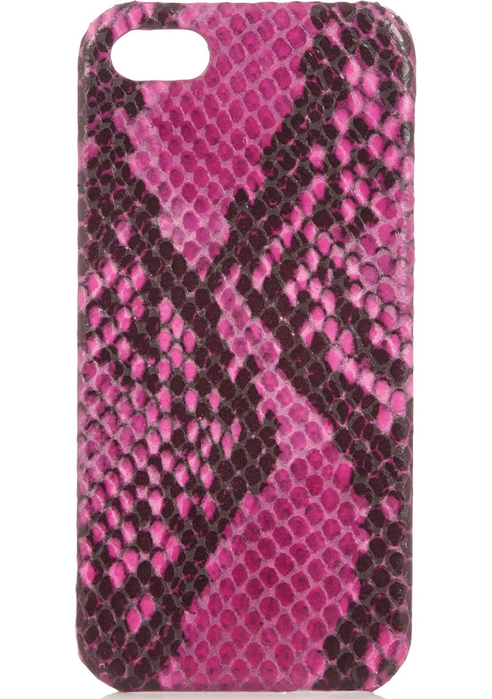 Case Factory Snake-effect Leather iPhone 5 Case
