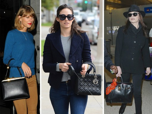 Celebs Chose Neutral Totes and Satchels for Thanksgiving Travel