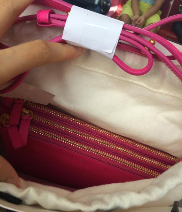 Celine Trio Pink Bag