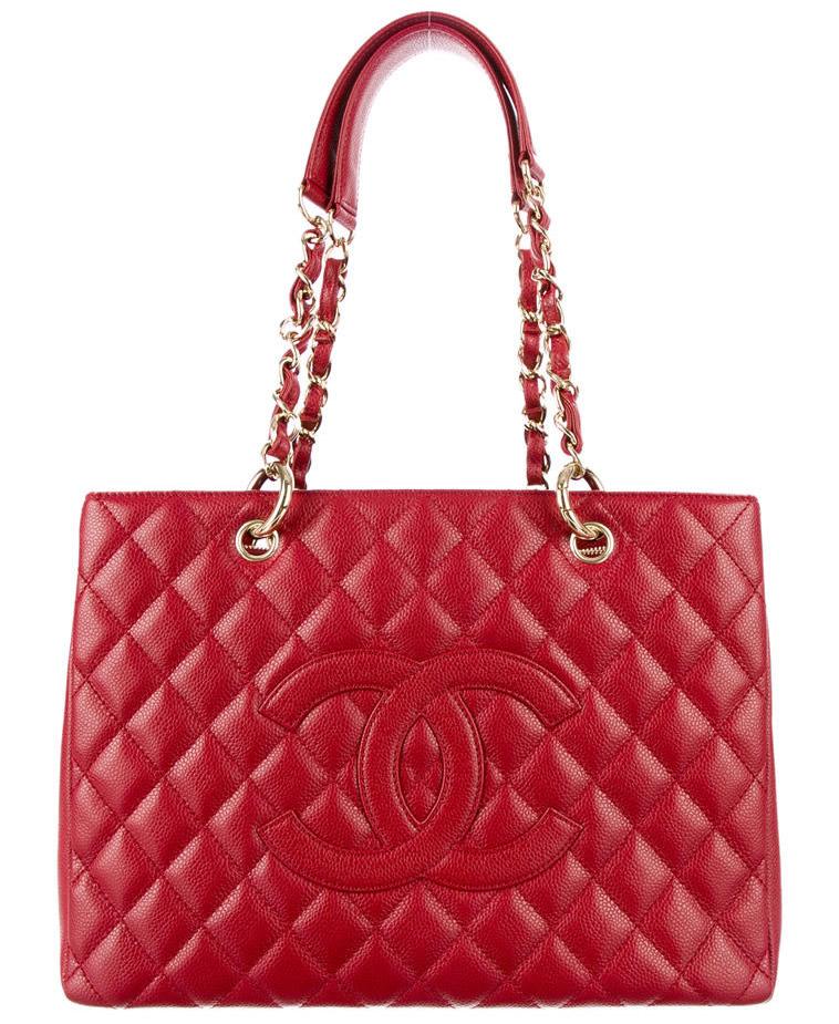 Chanel Shopper RealReal