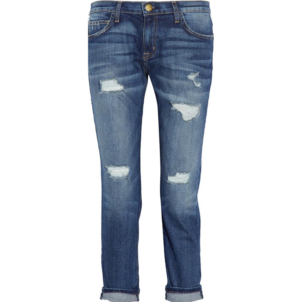 Current Elliott The Fling Mid-rise Boyfriend Jeans