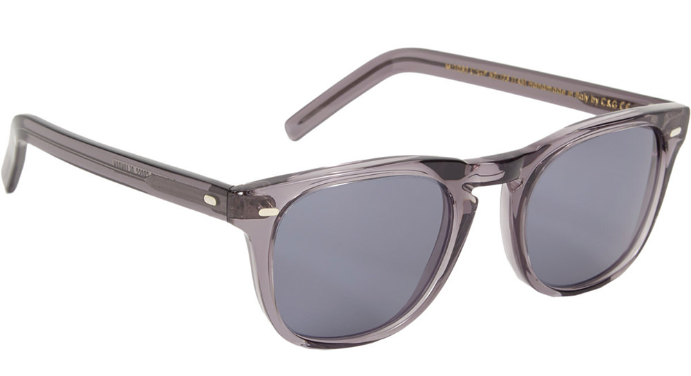 Cutler & Gross Rounded Square-Frame Sunglasses