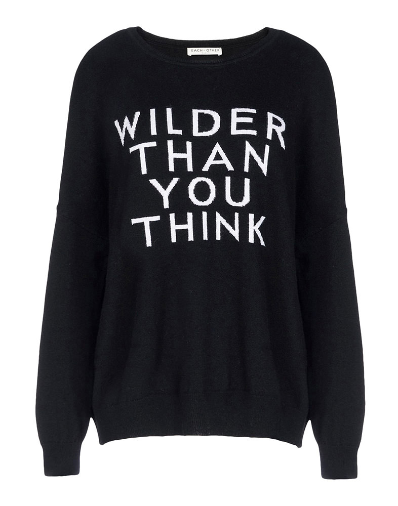 Each x Other Wilder Than You Think Sweater