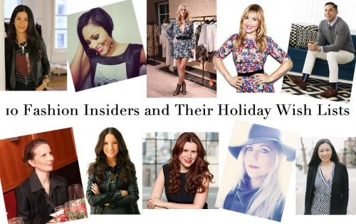 Fashion Insider Wish List 2014